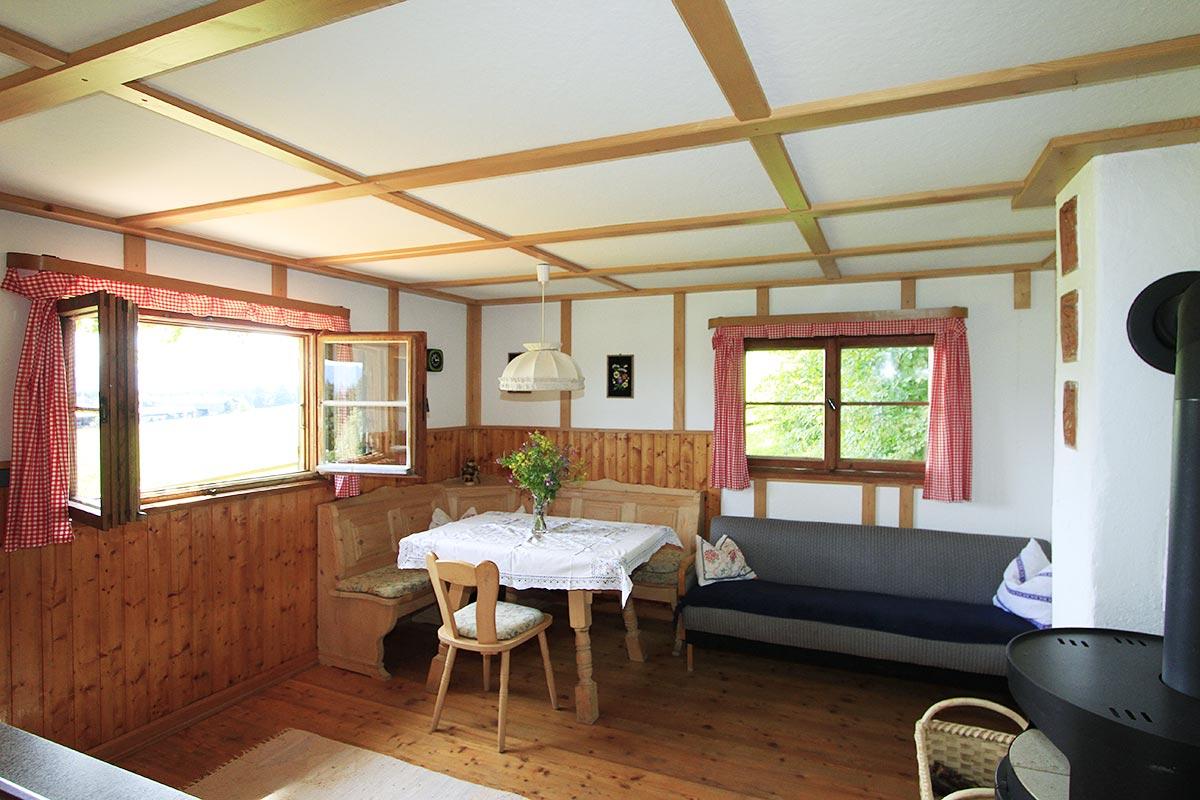 Hütte mieten - Panoramahütte in Wildsteig : Panoramahütte